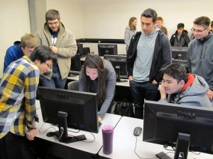 High schoolers experience a day in the life at university