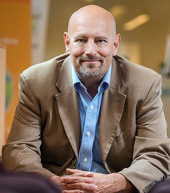 Philip Barker, UBC Okanagan Vice-Principal of Research