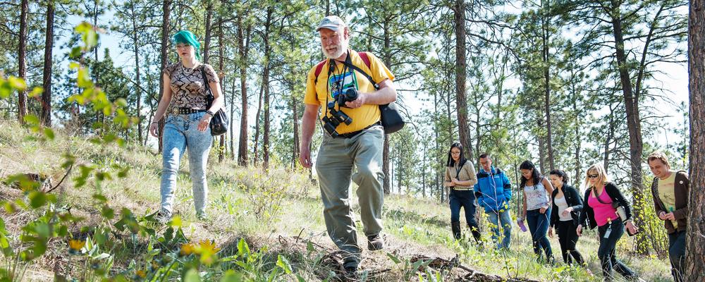 UBC Okanagan exploring Kelowna Hills
